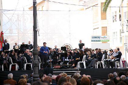Espectacular concierto de la Banda Municipal en la Plaza de la Concordia