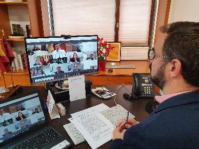 El Alcalde de Lorca destaca la importancia de la coordinación entre administraciones