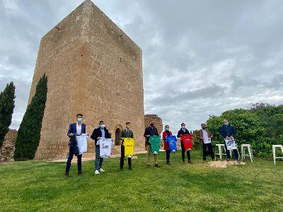 Este fin de semana se celebra la Vuelta Ciclista al Guadalentín-Región de Murcia, con salida y llegada en el Castillo
