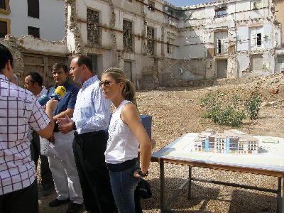 El Ayuntamiento de Lorca terminará en un mes y medio las excavaciones arqueológicas previas a la construcción del Barrio Artesano