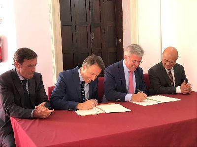 El Alcalde firma un convenio con el Ministerio de Hacienda por el que Lorca recibe 3 millones de euros que se destinarán a múltiples proyectos e inversiones de mejora en pedanías