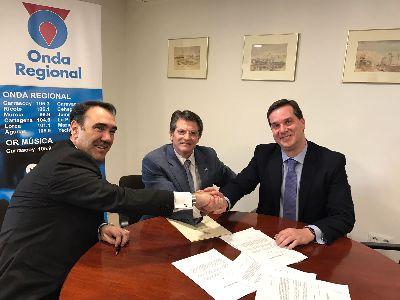 El Ayuntamiento firma un convenio con Radio Televisión de la Región de Murcia y 7 TV Región de Murcia para retrasmitir los conciertos del I Festival Internacional de Guitarra Narciso Yepes
