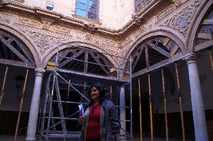 El Ayuntamiento de Lorca inicia los trámites para contratar la consolidación del Palacio de Guevara, parte de la muralla y el Porche de San Antonio dañados por los seísmos