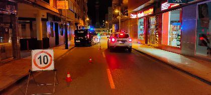 La Policía Local de Lorca inicia una campaña de tráfico para controlar las emisiones sonoras y la contaminación acústica