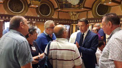 El Alcalde de Lorca pone en valor el esfuerzo compartido de todos los lorquinos para encontrar soluciones a la recuperación de Lorca tras los seísmos de 2011