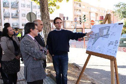 Las obras de mejora integral del barrio de San Diego, que suponen una inversión cercana a los 5 millones de euros, se inician en la Avenida del Paso Encarnado