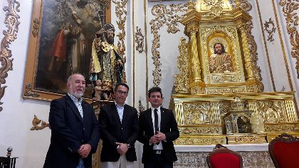 El Alcalde de Lorca, Fulgencio Gil, agradece a la Federación San Clemente Patrón de Lorca, su elección como pregonero de las fiestas este año