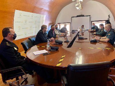 El alcalde preside la Mesa de Seguridad para coordinar la vigilancia del cumplimiento del nuevo confinamiento perimetral
