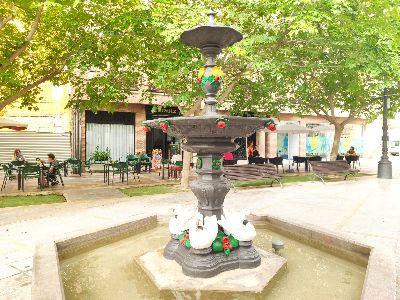 La Concejalía de Parques y Jardines amplía el horario de las fuentes una hora por las altas temperaturas