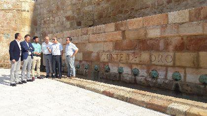 Lorca recupera una seña de identidad histórica, social y cultural gracias a la finalización de los trabajos de recuperación de la Fuente del Oro