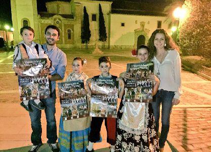 Los Coros y Danzas Virgen de las Huertas celebran el sábado la V Muestra Infantil de Folclore ''Tío Pillo'' en el Guerra a beneficio de la restauración del Camarín de la Patrona