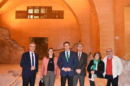 Lorca recibe a la delegación oficial de la Red de Juderías de España para mostrar de primera mano el patrimonio hebreo del municipio, con la Sinagoga como legado más destacado