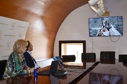 Un vídeo conmemorativo difundirá los actos organizados por la Hermandad de la Virgen de las Huertas para celebrar el 75 aniversario de la Coronación Canónica de la Patrona de Lorca