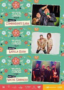 El Festival Viva Lorca continúa este fin de semana con las actuaciones de Comandante Lara, Ladilla Rusa y Noche Sabinera