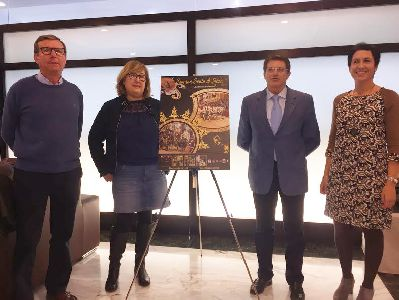 ''Arte en oro y sedas'' de la fotógrafa María José Ruiz se convierte en el cartel de la Semana Santa de Lorca 2017