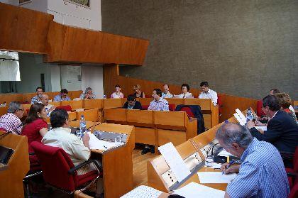 Balance provisional pleno municipal del Ayuntamiento de Lorca correspondiente al mes de julio de 2011