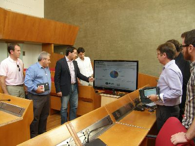 El Ayuntamiento de Lorca utiliza un novedoso sistema informático basado en la experiencia de los terremotos para gestionar la emergencia derivada de las inundaciones