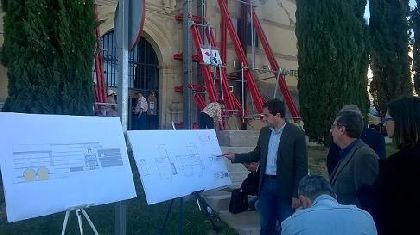 Las obras de recuperaci�n en el antiguo convento de La Merced incluir�n la consolidaci�n de la cimentaci�n para dotar de mayor seguridad al conjunto del inmueble