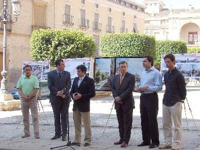 El Gobierno regional destinará 1,3 millones de euros a la remodelación de la Plaza de España de Lorca y su entorno