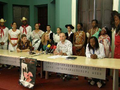 120 personas de cuatro grupos de Cuba, Perú, Kenia y Lorca participarán hasta el domingo en el XXI Festival Internacional de Folklore ?Ciudad de Lorca?