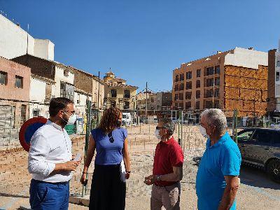 La nueva plaza entre las calles Beato Fray Pedro Soler y Eulogio Periago se llamará Santísimo Cristo de la Sangre