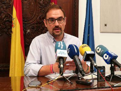 El Alcalde de Lorca hace un llamamiento a los beneficiarios de las ayudas concedidas tras los terremotos de 2011 para que presenten la cuenta justificativa
