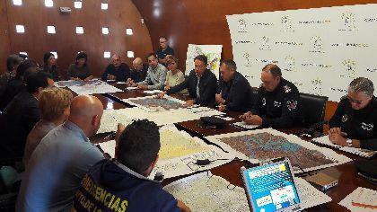 El Alcalde activa el Plan Inunlor en fase de pre emergencia para responder ante cualquier incidencia en caso de que se registren fuertes lluvias durante las próximas horas