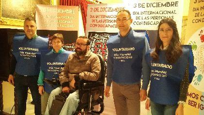 Ayuntamiento y oeneg�s unen fuerzas para concienciar y dar visibilidad a trav�s de las redes sociales sobre la situaci�n de las personas con discapacidad