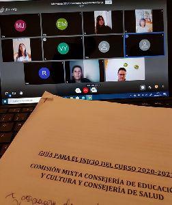Imagen de Las escuelas infantiles del municipio participan en una jornada online sobre la Covid-19 ofrecida por el Ayuntamiento
