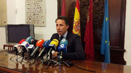 Fulgencio Gil asume el reto de ser Alcalde de Lorca con ''compromiso, ilusión y ganas de trabajar por este gran municipio''