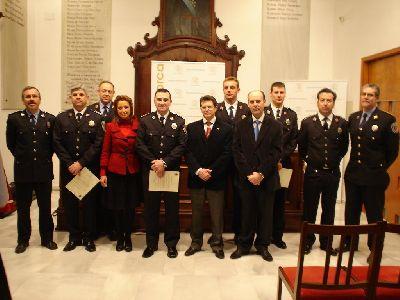 El Ayuntamiento de Lorca refuerza la organización de la Policía Local con cinco nuevos cabos