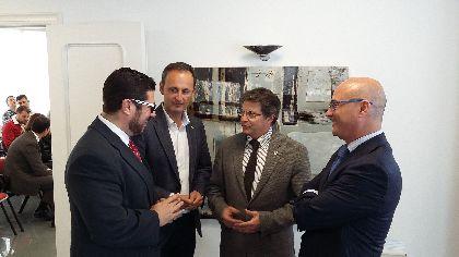 El Alcalde anima a los empresarios lorquinos del sector a beneficiarse de los 10,6 millones de euros del Plan especial Reindus para Lorca y consolidar nuestro tejido industrial