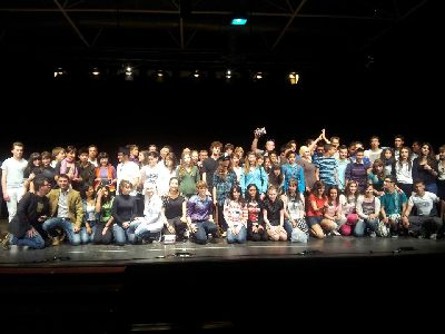 El Recinto Ferial de Santa Quiteria acogerá el próximo viernes el XIX Certamen de Teatro Intercentros en el que participarán 6 grupos teatrales integrados por jóvenes estudiantes lorquinos
