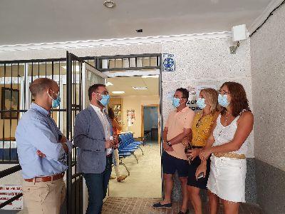 El Ayuntamiento de Lorca culmina la adaptación de los consultorios de las pedanías con una inversión de 76.000 euros