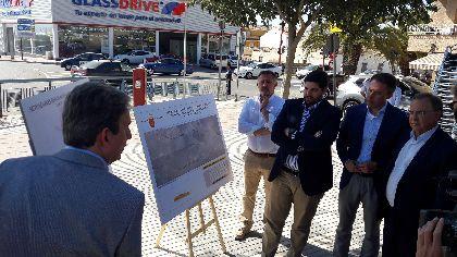 López Miras anuncia una nueva inversión de 21 millones de euros para infraestructuras en Lorca