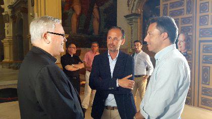 Fulgencio Gil, Alcalde: ''los lorquinos estamos orgullosos de recuperar nuestro patrimonio con todo su esplendor; lo que el terremoto arruinó vuelve a ser monumental''