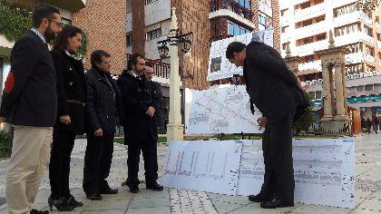 Contenedores soterrados, nuevo arbolado, mejor iluminación y supresión de barreras arquitectónicas, principales apuestas de la mejora de Juan Carlos I y sus calles adyacentes