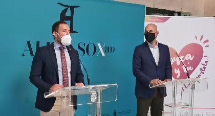 Lorca y Murcia se unen con motivo del VIII centenario del Rey Alfonso X ''El Sabio' para aumentar los visitantes