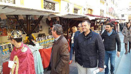 El Mercado Medieval de San Clemente cambia su ubicación a Plaza de España y reúne a 130 artesanos procedentes de toda la geografía nacional