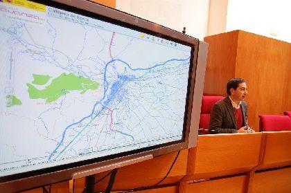 El Ayuntamiento de Lorca crea un callejero para la web municipal que permitirá buscar vías de todo el municipio, incluyendo la ubicación del número del edificio