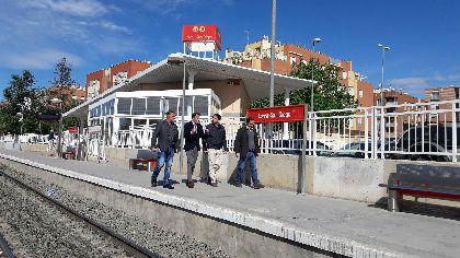 El Alcalde solicita una reunión al Ministro de Fomento para exigir que no se pare el proyecto de llegada del AVE a Lorca que conllevaría un nuevo retraso ''sine die''