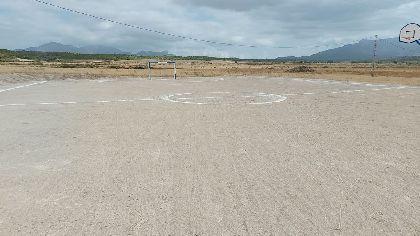 El Ayuntamiento de Lorca refuerza el mantenimiento de las instalaciones deportivas al aire libre en pedanías