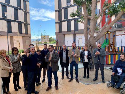 El Ayuntamiento de Lorca hace entrega de las llaves de seis de las viviendas de propiedad municipal del Barrio de San Fernando a diversos colectivos sociales del municipio