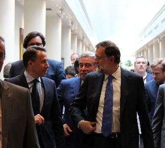 Fulgencio Gil invita al Presidente del Gobierno, Mariano Rajoy, a visitar Lorca para contemplar los avances en el proceso de reconstrucción del municipio tras los terremotos