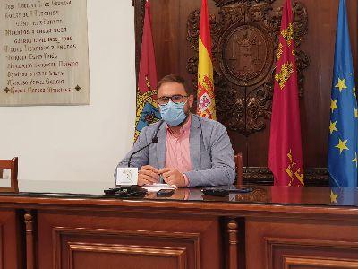 El alcalde de Lorca pide serenidad para afrontar la situación sanitaria del municipio