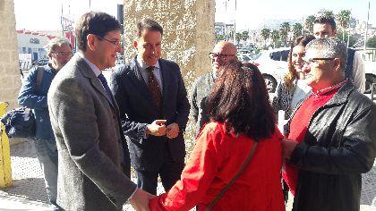 Fulgencio Gil: ''abrir el centro de Salud de San Diego por las tardes y las obras para su servicio de Pediatría van a mejorar la atención que se presta a todos sus usuarios''
