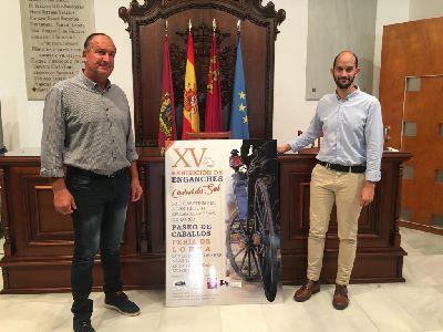 La XV Exhibición de Enganches de Lorca tendrá lugar el próximo domingo 22 de septiembre en las Alamedas