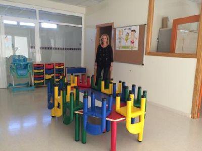 La Concejal de la Mujer y Desarrollo Local de Lorca inaugura el nuevo Centro de Atención a la Infancia de Cazalla, con 122 plazas para menores de pedanías
