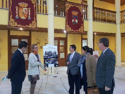 La exposición promocional de la Semana Santa lorquina en el castillo de Santa Ana de Roquetas de Mar ha recibido más de 4.200 visitas