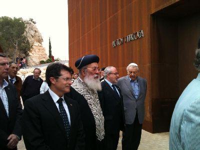 El Gran Rabino Sefardita de Israel celebra el primer acto religioso de culto judío en la Sinagoga de Lorca tras 520 años